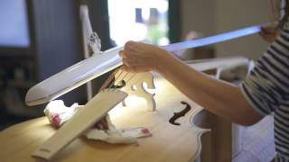 Recreation of the Pellegrino violone - part 5