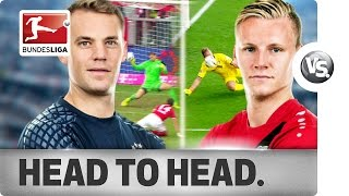 Manuel Neuer vs. Bernd Leno - World Class Goalkeepers go Head-to-Head - dooclip.me