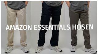 Die besten Amazon Essentials Hosen unter 25 Euro (Widefit, Straightfit)  Joel Ksn