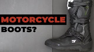 4 Reasons To Wear Motorcycle Boots (Over Regular Shoes) | Motorchcle Essentials