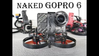 BetaFPV 85x with Naked Gopro Hero 6 Cinematic - DiaRy FPV