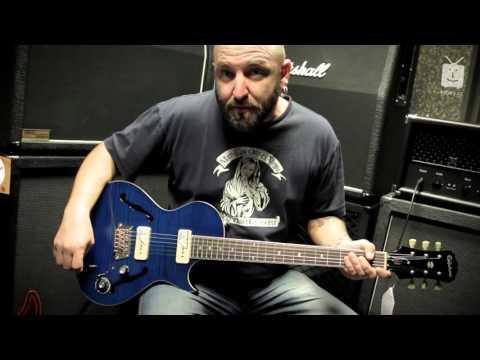 EPIPHONE Blueshawk Deluxe MS Semiakustická kytara