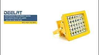 Maintenance Free Energy Saving Explosion Proof LED Lamps - 30W 254 x 160 x 119 mm     SKU #D1151802