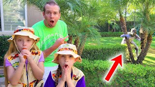 Tracking a Pond Monster Found in our Backyard!!!