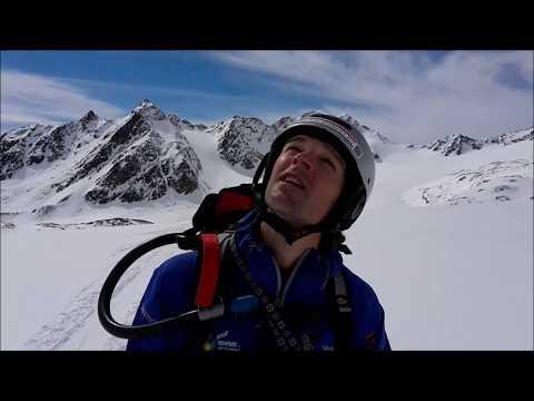 Bijna doodervaring ~ 15 meter val in een gletsjerspleet.