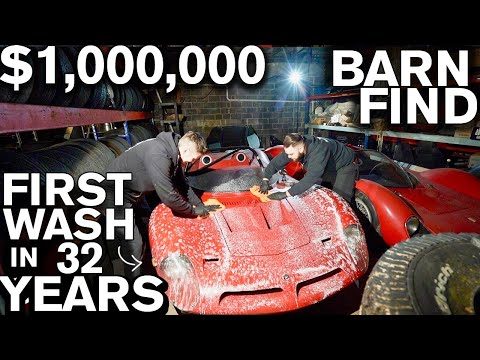 Guy is given access to an insane car collection that hasn't been seen in 40 years to detail a rare car