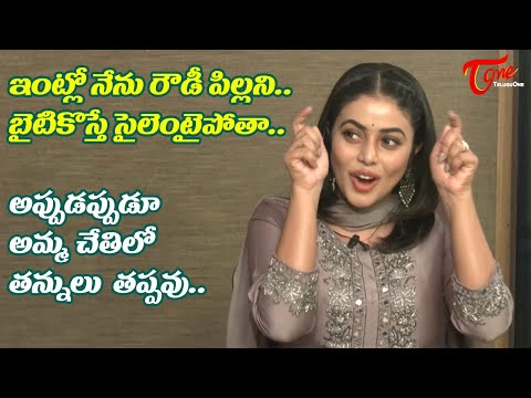 Poorna about her Funny Behaviour @ Home | Power Play Team Interview | Raj Tarun | TeluguOne Cinema