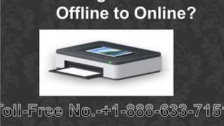 Fix your lexmark printer offline