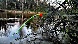 Как сделать удочку с кивком для осенней ловли