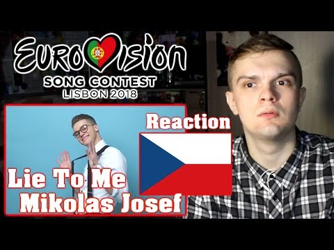 [RUSSIAN REACTION] Mikolas Josef — Lie To Me | Czech Republic (Eurovision 2018)