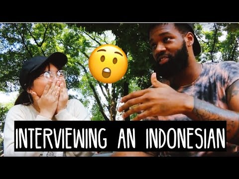 HOW DO INDONESIANS FEEL ABOUT AFRICAN AMERICANS & MORE: AN INTERVIEW | S.02 EP. 48