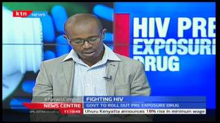 Johnston Kuria-Coordinator Sexual Reproductive Alliance speaking about the HIV wonder drug Part 1