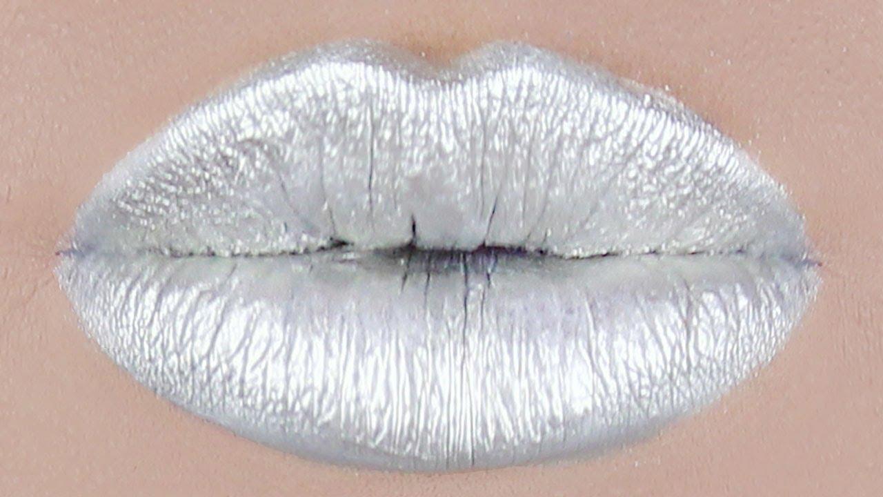 LABBRA MAGICHE ♥ Make-up FANTASIA per una magica bocca argentata