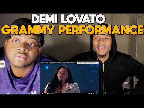 Demi Lovato - Anyone (Live From The 62nd GRAMMYs ® / 2020) Reaction
