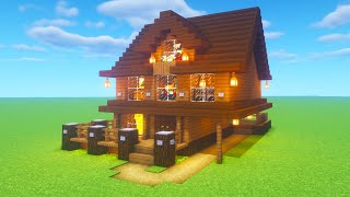 Minecraft Tutorial How To Make A Spruce Wood House 2020 Tutorial Minecraftvideos Tv