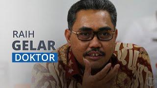 Jajizul Raih Gelar Doktor Ilmu Manajemen di UNJ