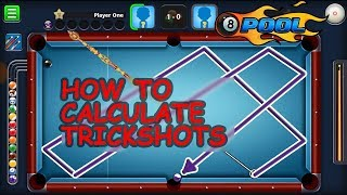 8 Ball Pool   How To Calculate Trickshots/Indirect Shots   Trickshots Tutorial   Well Defined [HD]
