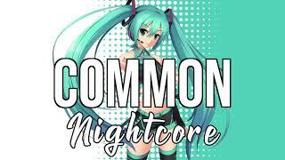 Gambar cover (Nightcore) Common (feat. Brandi Carlile) - Maren Morris