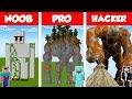 Minecraft NOOB vs PRO vs HACKER GOLEM S