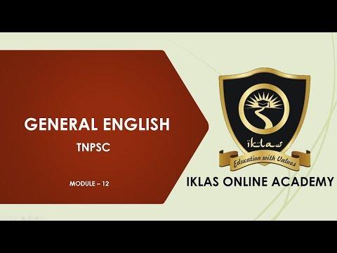 Tnpsc General English
