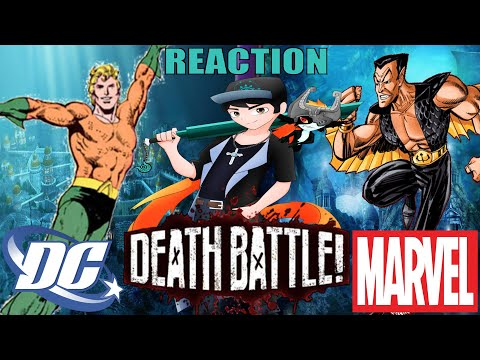 HEROES UNDER DA SEA   Aquaman vs Namor Death Battle REACTION