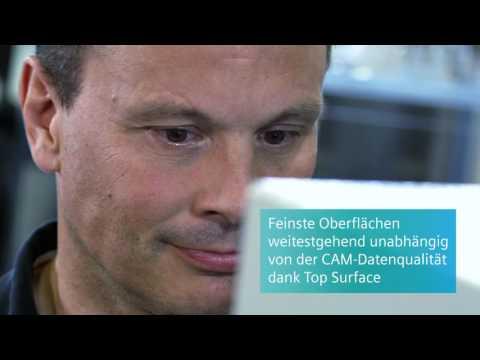 Top Surface - Perfekte Werkstückoberflächen im Fräsen mit SINUMERIK.