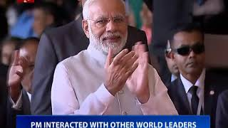 PM Modi attends swearing in ceremony of newly elected Maldives President