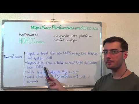 HDPCD – Hortonworks Exam HDP Certified Test Developer ...
