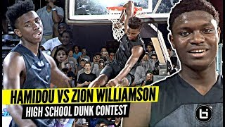 Hamidou Diallo Vs Zion Williamson INSANE High School Dunk Contest!! 2020 NBA Contest Preview?