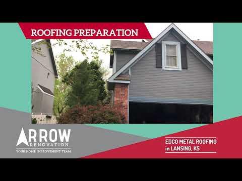 Roofing Preparation for Installed EDCO Metal Roof in Lansing, KS
