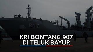 Bersandar di Teluk Bayur Padang, KRI Bontang 907 Patroli Sambil Percepatan Vaksinasi