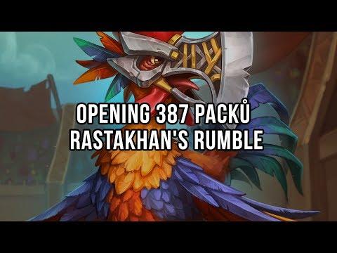 Opening 378 packů Rastakhan's Rumble