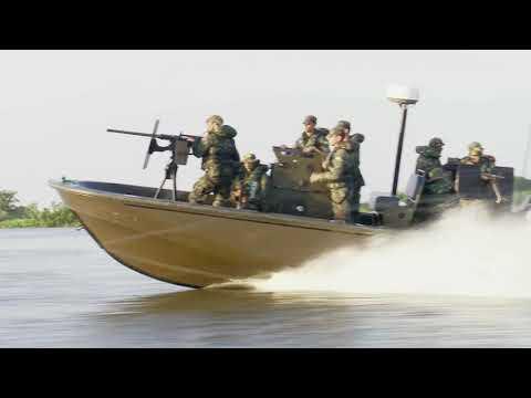 Brasil despliega la lancha táctica Guardian 25 en operaciones fluviales en la Amazonía