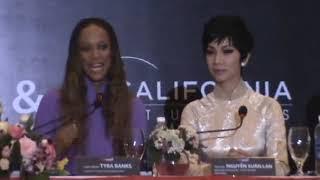 Тайра Бэнкс, 8\01\2012 - Пресс Конференция Vietnam's Next Top Model