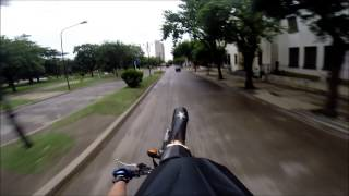 preview picture of video 'Venado Tuerto, día de lluvia en la moto.#HeroPro3BlackEdition'