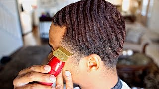 HOW TO CUT YOUR OWN 360 WAVES FOR MEN