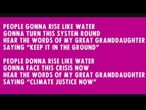 people gonna rise- protest song