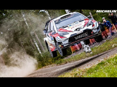Leg 2 - Top Moments - 2019 WRC Neste Rally Finland - Michelin Motorsport