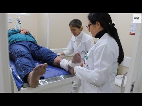 Tratamento de eczema por água de vida