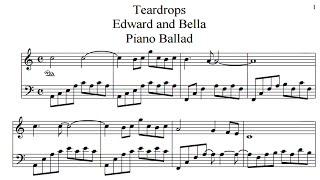 Teardrops Sheet [Download]