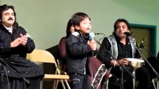Arif Lohar Son & ALAM LOHAR Grandson  First performance - Live.flv