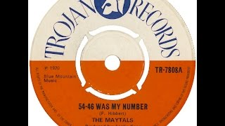 Toots and Maytals     54-46 That's My Number  (Stick It Up Mister)