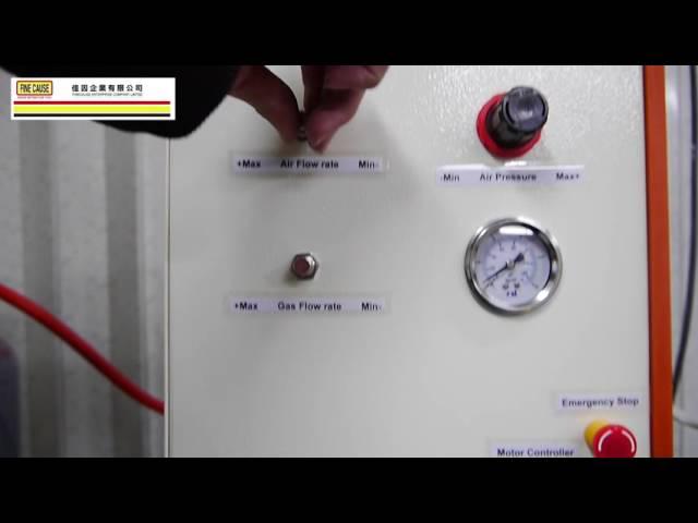 火焰處理機 (客製化設計)