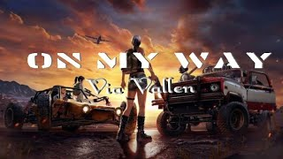 Via Vallen - On My Way Alan Walker Koplo Version PUBG (Official Animation Cover Song)