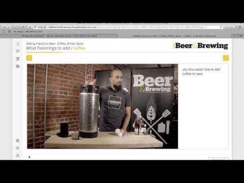 Craft Beer & Brewing Online Education Platform Walk-Through
