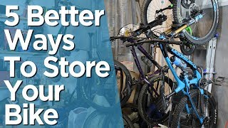 Five Bike Storage Solutions That Dont Stink!