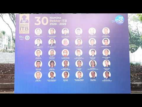 Pemilihan Rektor ITB Periode 2020 - 2025