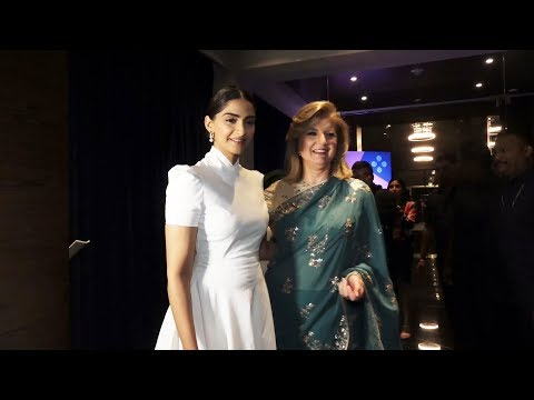 Sonam Kapoor At The Launch Of Thrivein's Believe Series