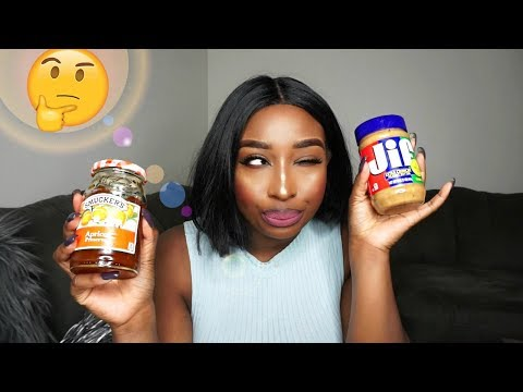 WEST AFRICAN TRIES A PEANUT BUTTER & JELLY SANDWICH FOR THE FIRST TIME!
