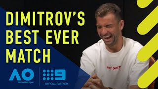 Dimitrov's Best Ever Match - Australian Open | Wide World of Sports